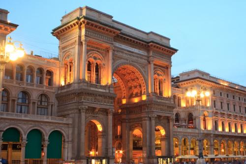 Shop in Galleria Vittorio Emanuele II