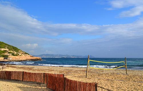 Playa des Cavallet, Ibiza, Spain