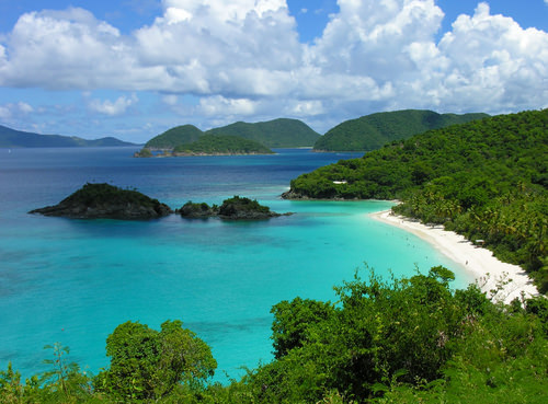 Trunk Bay, Saint John (the US Virgin Islands)