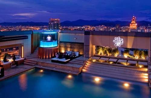 Luna Bar Pacific Regency Hotel Suites Kuala Lumpur