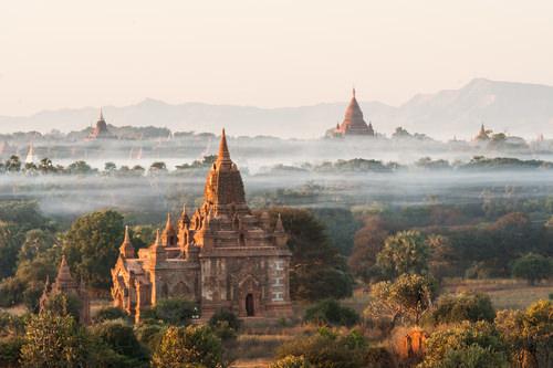 Myanmar walking and hiking