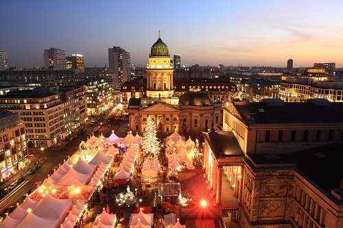 Europe's Places for Christmas Shopping