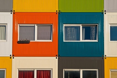 Container City London England
