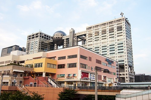 Fuji TV Building in Tokyo