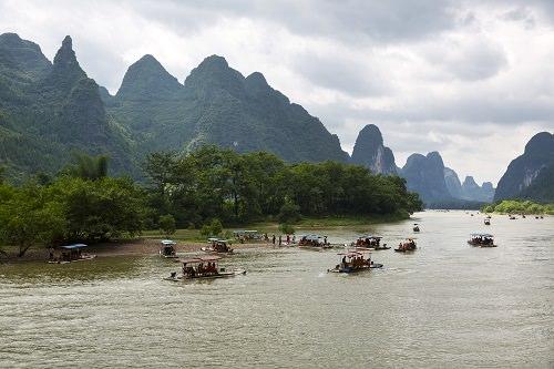 Guilin and Lijiang River China