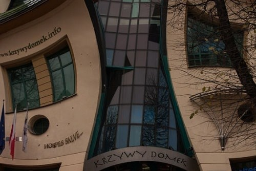 Krzywy Domek The Crooked House Sopot Poland