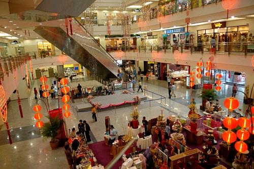 Paradise for shopaholics