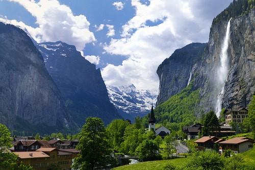 Lauterbrunnen Valley National Park Switzerland