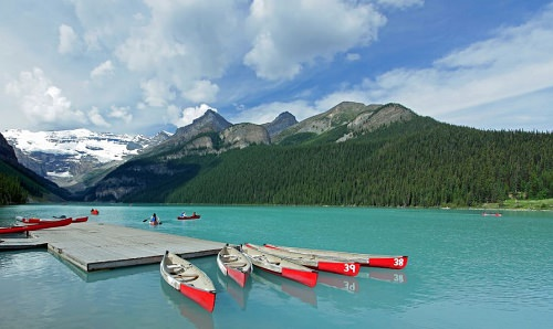 Honeymoon in Canada's Lake Louise