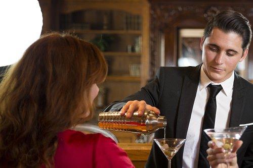 Experience a genuine speakeasy