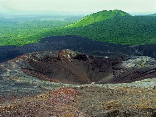 Have fun volcano boarding