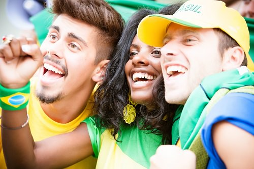 It's in the Brazilian culture to be happy