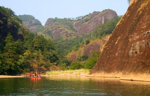 Mount Wuyi in the Fujian province