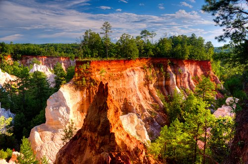 -Providence Canyon in Georgia