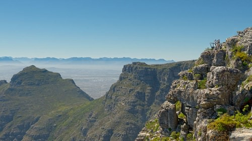 Ride a Cable Car up Table Mountain