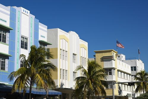 The Art Deco district