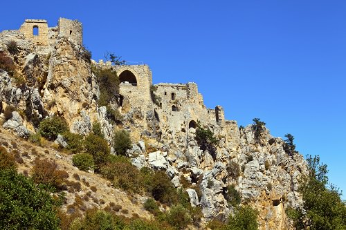 The Castle of St. Hilarion Northern Cyprus