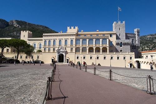 The Monaco-Ville Palace
