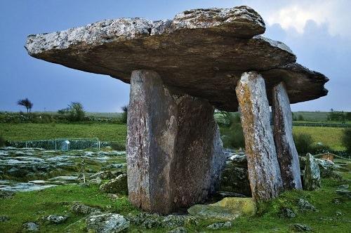 The Poulnabrone Dolmen, Ireland