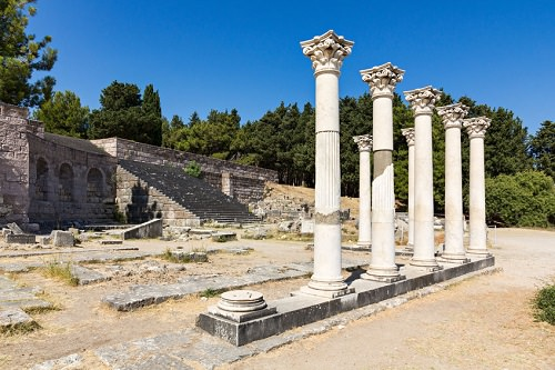 The Temple of Asklepieon Kos