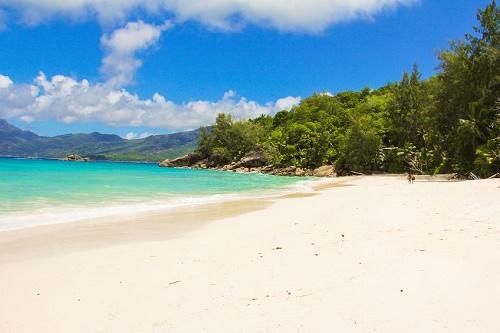 The beautiful beaches