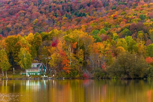 Vermont's Glorious Autumn