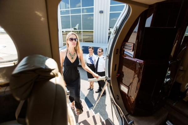 Private jet charters are for wealthy people only