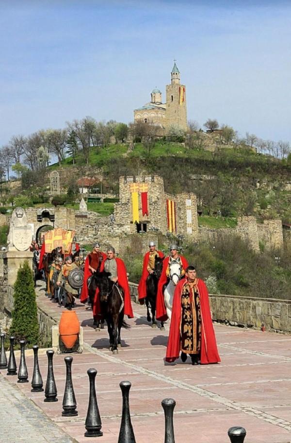 Tsarevets_Castle