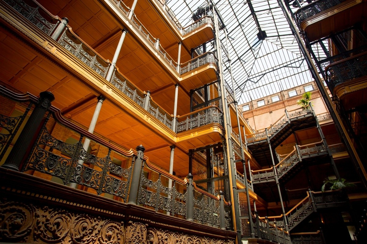 LA's Most Famous Film Locations The Bradbury Building
