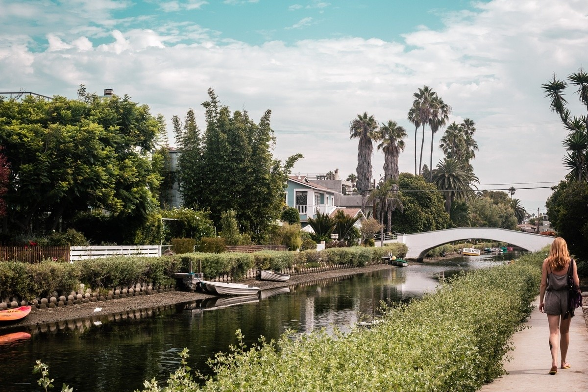 LA's Most Famous Film Locations Venice Beach and Canals